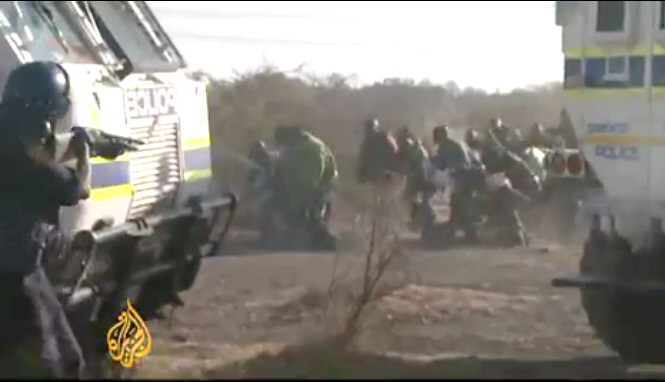 Video: 2012-08-16 Massacre of Miners - South Africa
