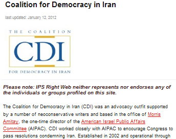 Coalition for Democracy in Iran